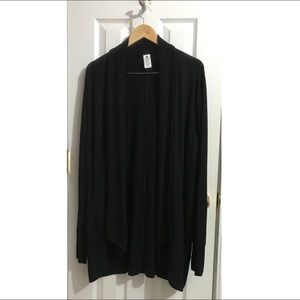 Active Life Super Soft Modal Black Cardigan XL